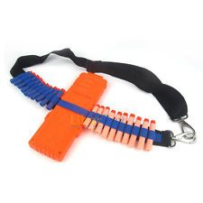Bandolier Shoulder Strap Darts Ammo Storage For Nerf N-strike Blasters Toy Gun