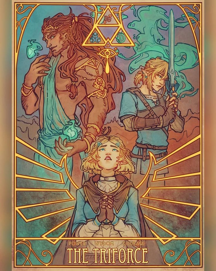 Legend of Zelda Breath of the Wild sequel inspired art > Ganondorf, Princess Zel… – Artworks & Wallpaper