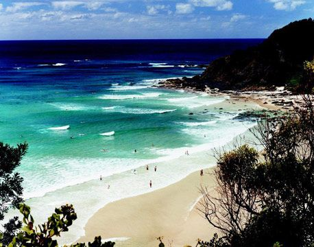 I Byron Bay Today Byron Bay - Australia - the beaches are amazing- would love to live ...