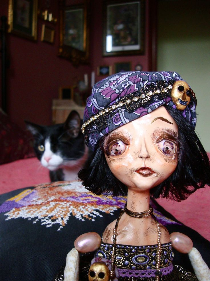 SILVER & MOLLY #кошки #куклы #cats #cat #pets #tuxedo #dolls #artdolls