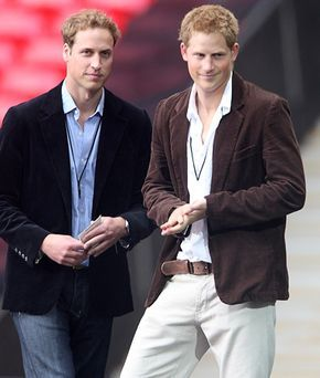 Princes William and Harry #royal