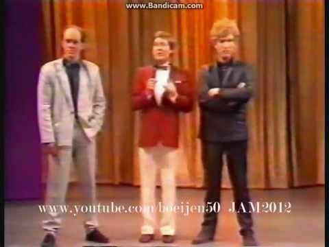 Frank Boeijen Jos Haagmans in De Blufshow Hans Kazan 1986
