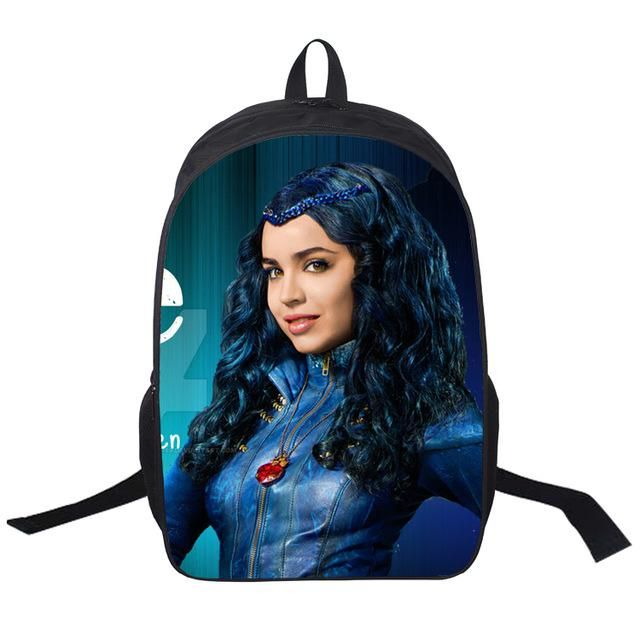 16 Inch Descendants Backpack For Teenagers Boys Girls School Bags Women Men Travel Bag Children Backpacks