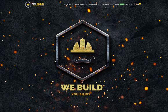 Build Construction Business WP Theme by Netbee on Creative Market