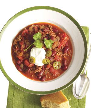 Chipotle Beef and Beer Chili