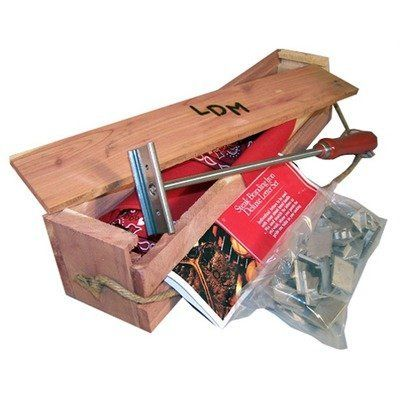 "Texas Irons Interchangeable Steak Branding Iron Party Pack by Texas Irons. $61.63. Ideal for Tailgating, Grill-Top Cooking, Outdoor Cooking. Hand Wash. Branding Tool. Creates a Charred Design. 16 x 4 x 4 inch. Get our new Interchangeable Steak Brand in one of our unique personalized wooden gift boxes. Order additional letters and change out as you them. This Set includes: 2 Interchangeable Brand Handles26 Letters and the ""&"" sign."