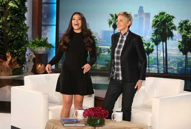 """Jane The Virgin star Gina Rodriguez joins """"The Ellen DeGeneres Show"""" today at 5 on our sister station WFMJ.  Gina talks to Ellen about attending the Golden Globes and bringing her dad.   Gina also talks to Ellen about wanting a baby and how being on the set and working with so many perfect babies makes her want them even more!  """"Jane The Virgin"""" returns Monday at 9 p.m. on WBCB.  Photo Credit:  Michael Rozman / Warner Bros."""