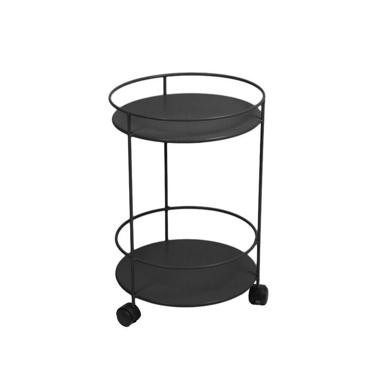 Small Table barbord med hjul - anthracite 1130 kr Svenssons i Lammhult