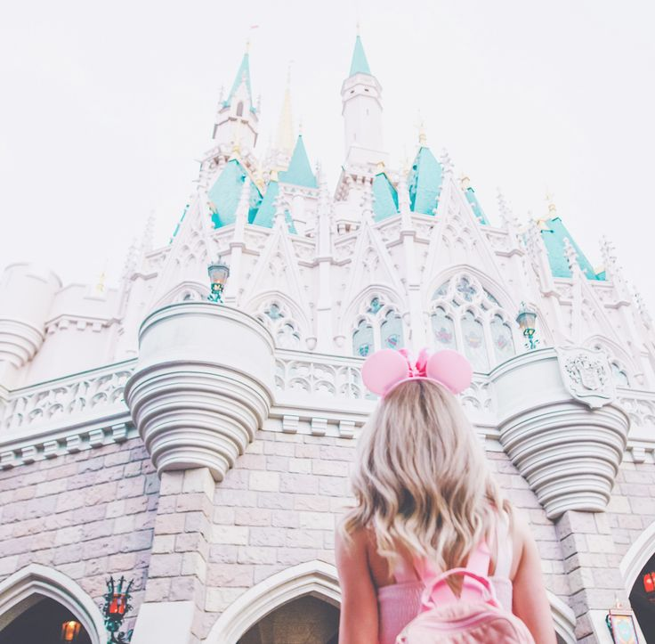 My Pretty & Pink Walt Disney World Adventures, Disneyland, disneyworld, Disney blogger, Disney style, Disney dresses, Mickey Mouse ears, dress blogger, girly girl, girl girl Adventures, Cinderella, cinderellas castle, the magic kingdom