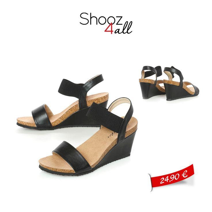 Ελαφριές πλατφόρμες σε μαύρο χρώμα με άψογη εφαρμογή και μαλακό πάτημα! http://www.shooz4all.com/el/gynaikeia-papoutsia/platformes-me-malako-patima-t-53-detail #shooz4all #platformes