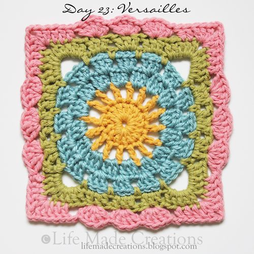 links to crochet patterns for squares..