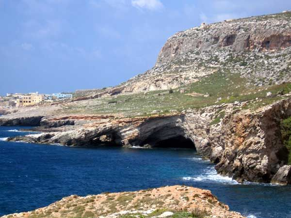 28 These are some of the caves one would find around here. One of the most famous is the Blue Grotto which can be reached from Wied iz-Zurrieq.