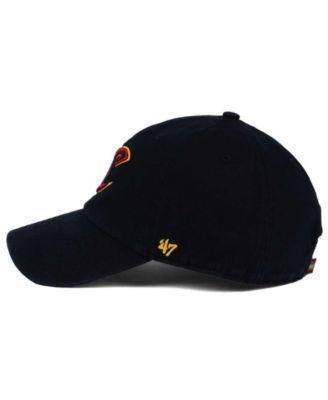 '47 Brand Cleveland Cavaliers Clean Up Cap - Black Adjustable