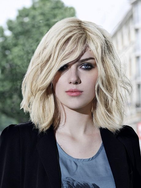 Shoulder Length Haircuts With Fringe #hairstyle