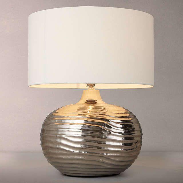 BuyJohn Lewis Ise Waves Metal Table Lamp Online at johnlewis.com