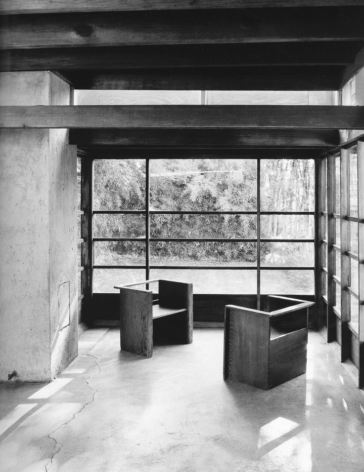 R.M. Schindler - Schindler house, North Kings road, West Lollywood, LA, 1921-22