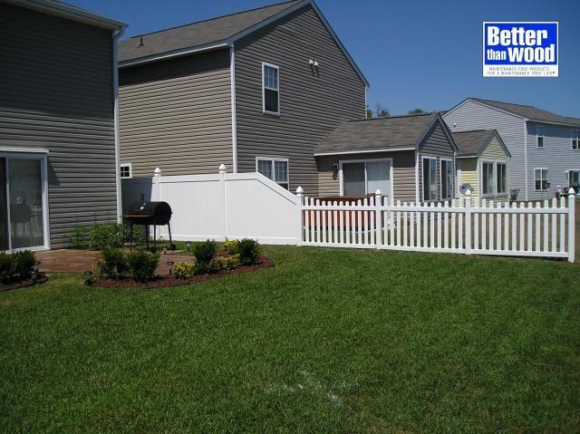 Divider Fences Vinyl Divider Fence Fence Home Decor Home