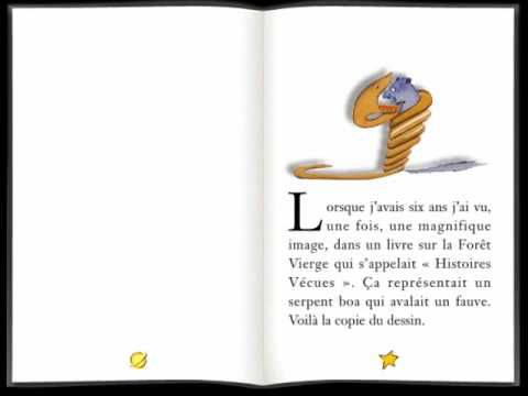 Le Petit Prince chapitre 1