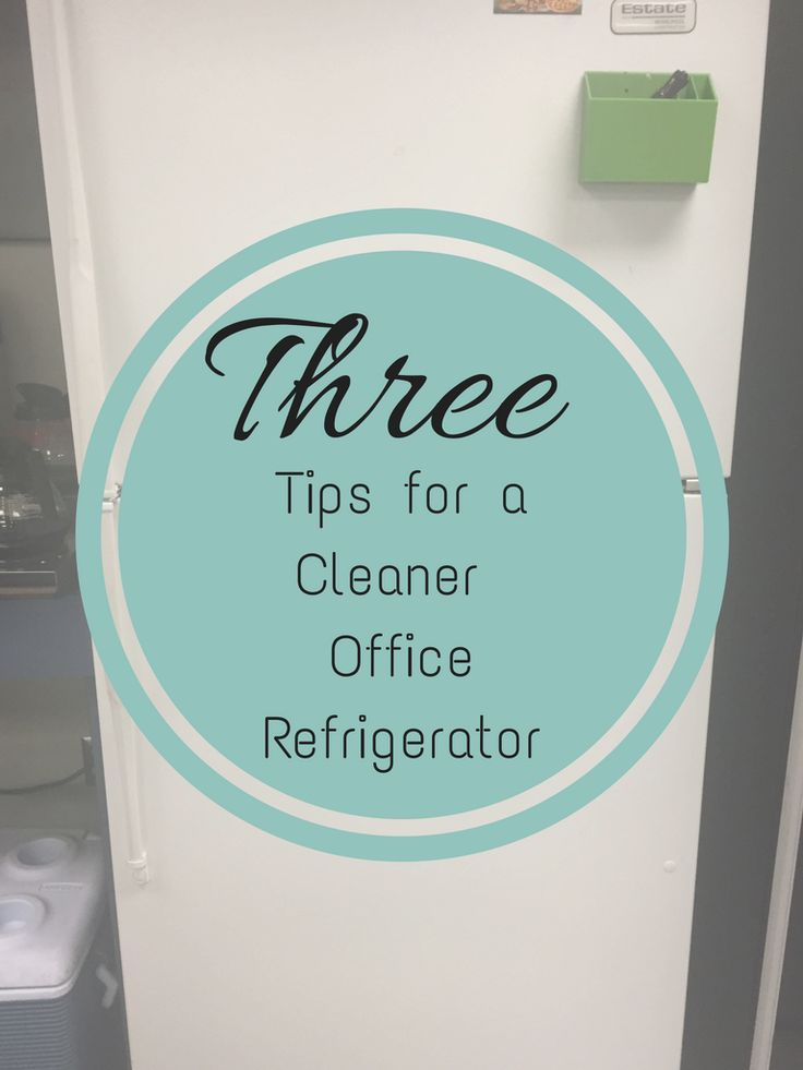 Does your office refrigerator need a little TLC. Here are some office tips on creating a calendar and cleaning out the refrigerator to need clean. Most office refrigerators have more germs than the office bathroom.