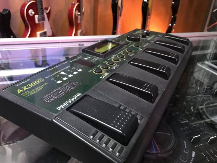 Korg Processor Bass