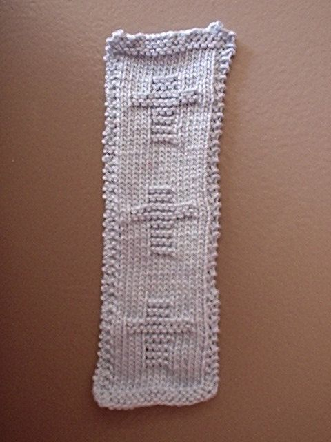 Simple Knitting Patterns For Bookmarks Bookmark Knitting Patterns