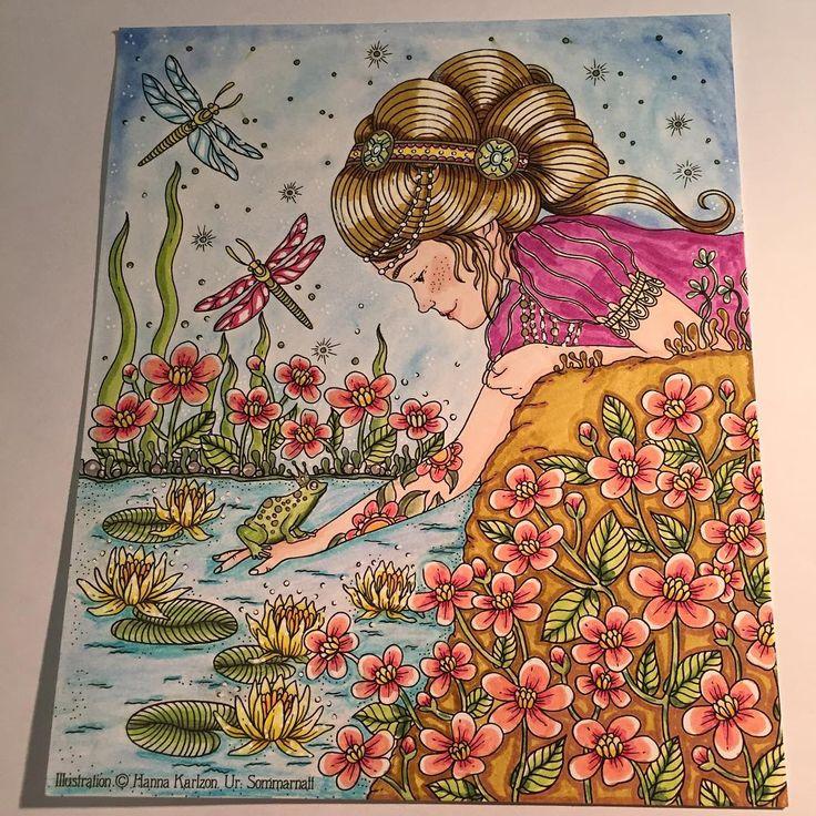 Idag fick jag detta kort från Pagina förlag. Vet inte varför men det kanske var lite reklam för Hanna Karlzons nya bok. Underbart motiv att färglägga iaf. Hannas nya bok sommarnatt har precis släppts, och den ligger överst på min önskelista ☺️. Pennor: FC pitt, FC polychromos, posca, promarker, guldgel och Mungyo. #hannakarlzon #pagina #paginaförlag #fabercastell #fabercastellpolychromos #polychromos #pitt #pittartistpen #mungyo #posca #promarker #winsorandnewton by @zmulan