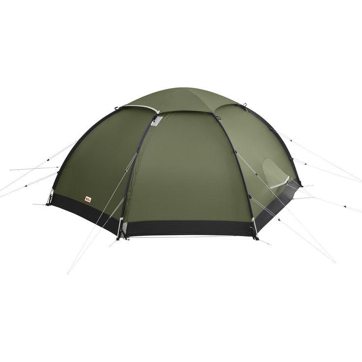 Fjällräven Keb Dome 3-Person Tent | Pine Green