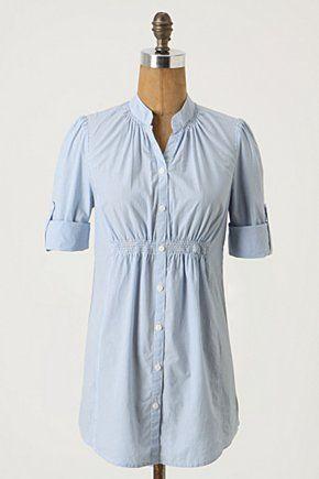 Like this men's shirt refashion...need to raid the hubby's closet