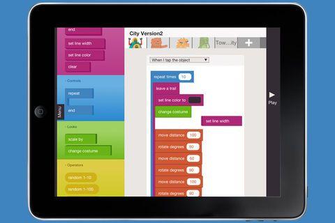 Actualité / Une app pour apprendre aux enfants à coder / étapes: design  culture visuelle