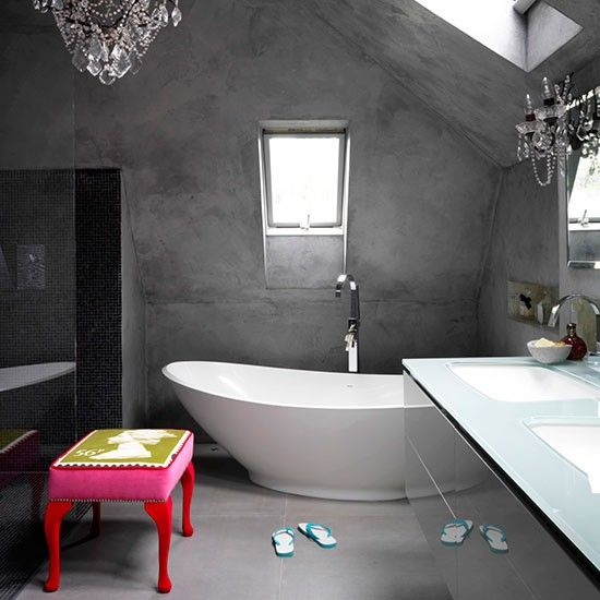 Bathroom   Be inspired by an Edwardian family home with an industrial vibe   House tour   PHOTO GALLERY   Livingetc   Housetohome.co.uk : via MIBLOG