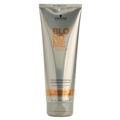 Schwarzkopf Professional Blondme posilňujúci šampón pre teplé odtiene blond