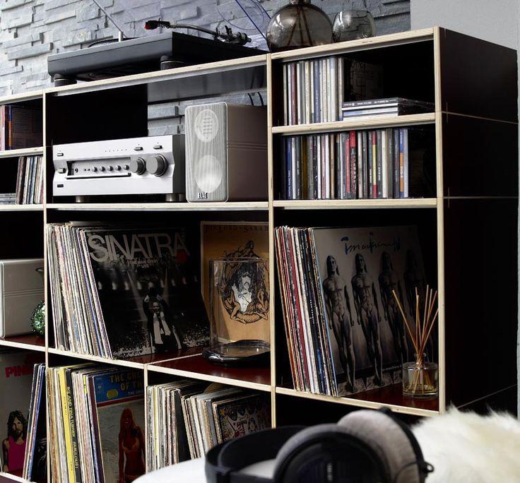 21 best Schallplatten Regale // Storage for vinyl records images on ...