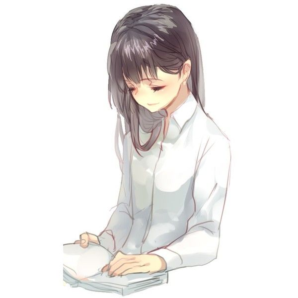 /Nicohi/#1074934 - Zerochan ❤ liked on Polyvore featuring anime, anime girls, drawing and drawings