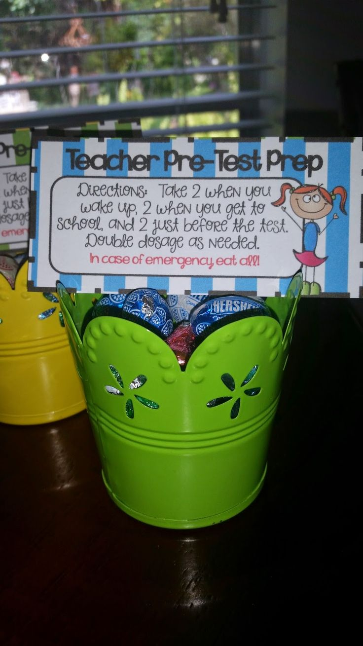 Pre-Test Goodies for Kids and Teachers:)