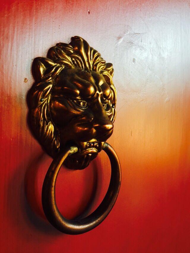 Chinese door bell
