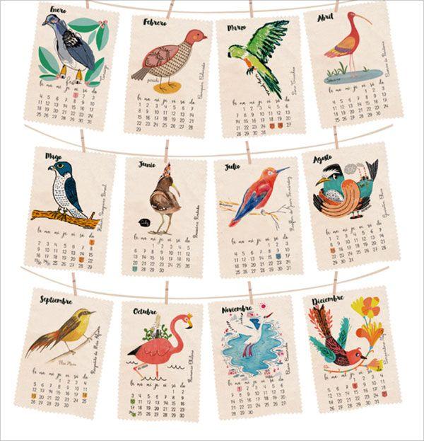 Chilean-Calendar-of-Endangered-Birds-2016-2