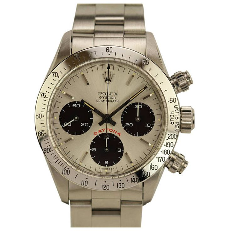 rolex stainless steel cosmograph daytona wristwatch ref circa