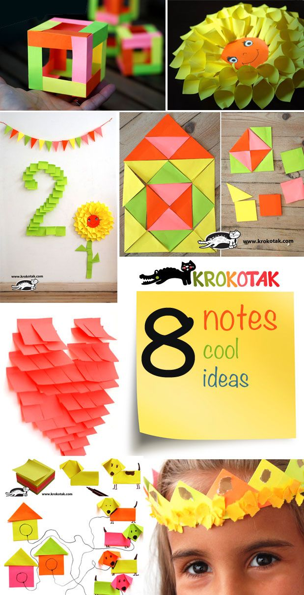 Cool things to do with sticky notes