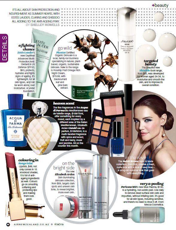 Kia Ora September Issue- Beauty Pics