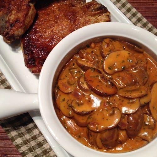 Greenway36 - der Foodblog mit #pillefüße: weltbeste Jägersauce - oder doch eher Pilzrahmsauce?