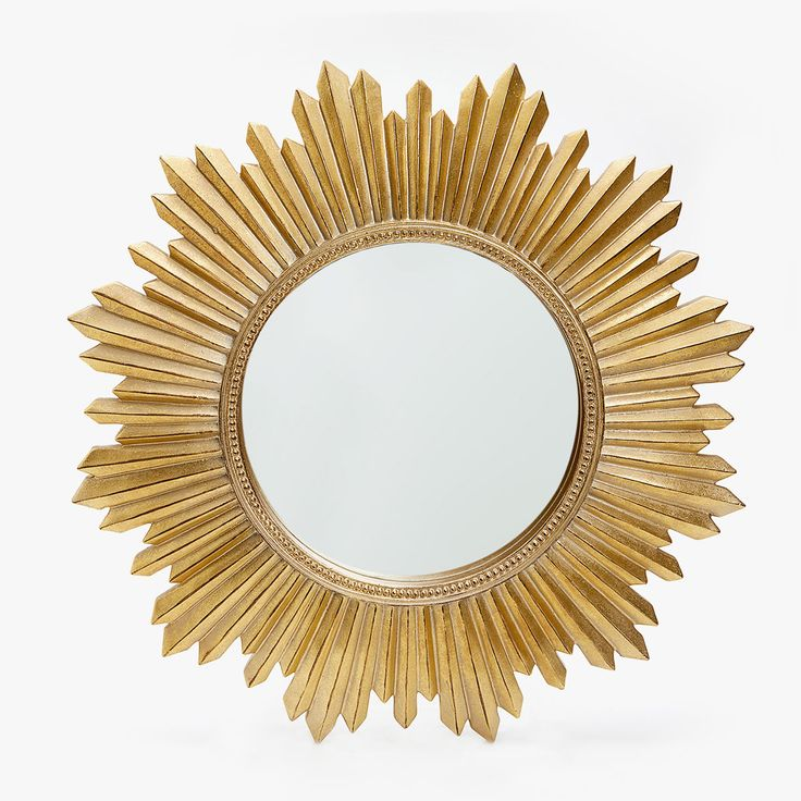 Image 1 of the product GOLDEN SUN-SHAPED MIRROR