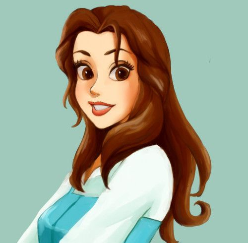 Belle  ( okay, know she's not a real person, but still like her. )