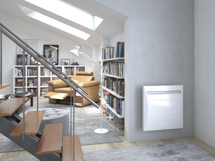 Radiateur connecté Mozart Digital Thermor #designcontemporain