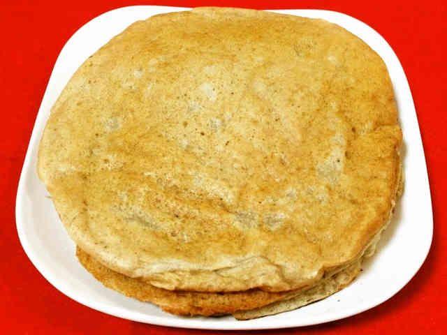 全粒粉バナナ豆腐♪ふわVegeパンケーキの画像