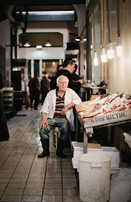 Central Fish & Meat Market // Athens, Greece