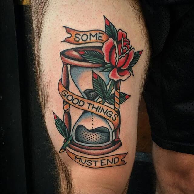 Talk To Me! — swallowsndaggers:   Great Tattoo by Nate Hudak.  ...