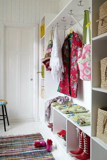Living Beautifully sweet utility room