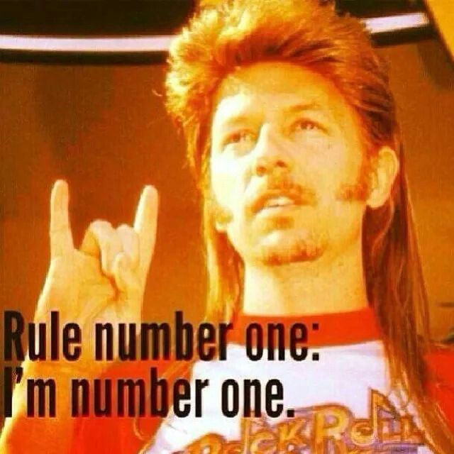 Rule number one