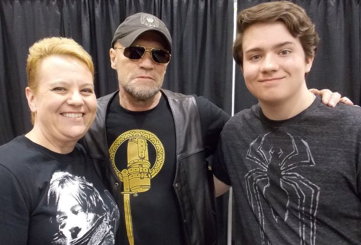 Me, Michael Rooker, Patric at Phoenix comicon 2014