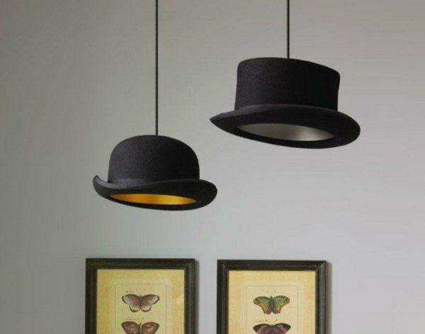 Designer Lampe selber bauen - ausgefallene Lampen